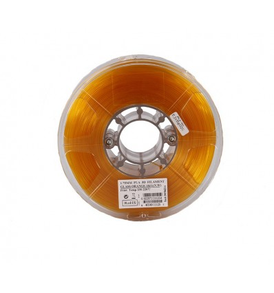 PLA TRANSPARENT ORANGE General 3D MASSA 1,75mm